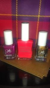 Julie G & OCC nail polishes