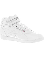 Reebok Freestyle White High Top Sneakers - Asos $92