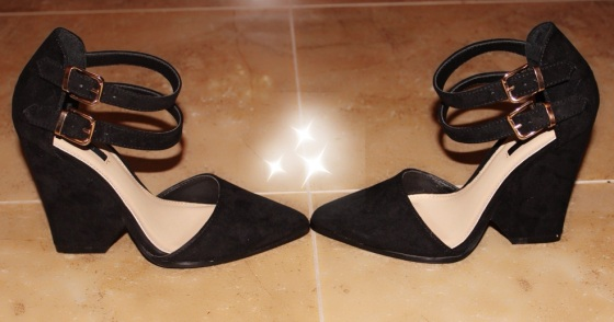 forever 21 heels wedges black