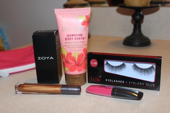 ipsy,glam,bag,review,zoya,pacifica,blog,bblogger,pop beauty