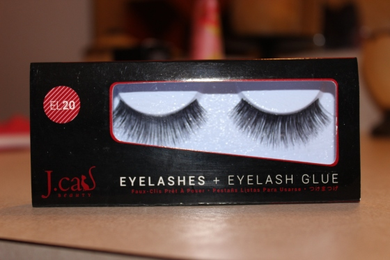 "J.Cat Beauty  ""EL 20"" Lashes + Glue These are very thick but still very soft to the touch, I may cut them in half to use as accent lashes instead of a full glam look. I usually prefer a slimmer band but nonetheless these are still great lashes."