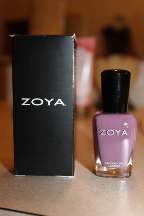 "Zoya- ""Odette"" This pretty purple is perfect for an everyday mani. It was a nice consistency and one coat is good enough for a nice finish. Ive always liked Zoya polishes and Im glad to add this to my collection!"