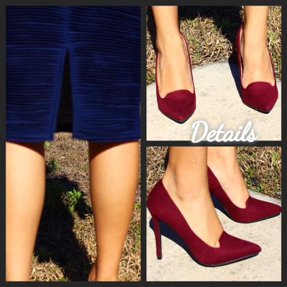 details, closeup, heels, oxblood, forever 21, tjmaxx, maxxinista, ootd