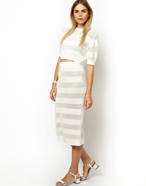Won Hundred Top & Pencil Skirt Top- $166.67 Skirt- $231.49