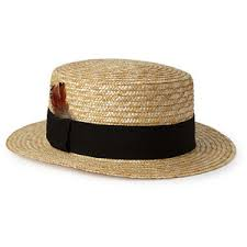 Forever 21-Throwback Straw Boater $12.80
