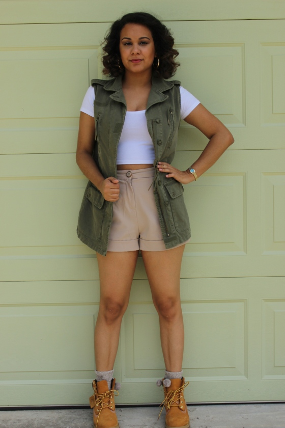 utility vest, cargo, olive, willow & clay, forever 21, outfit of the day