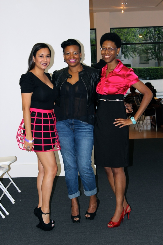 "Me, Fashion Stylist ""Sweet Tilly"" and Editor Mellisa Thomas"