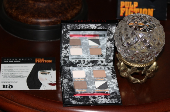 urban decay, pulp fiction, palette, makeup, review