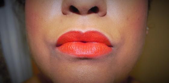 Milani lipstick in Sweet Nectar