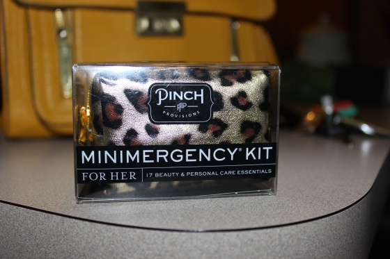 pinch minimergency for her, on the go, travel, just in case, emergency