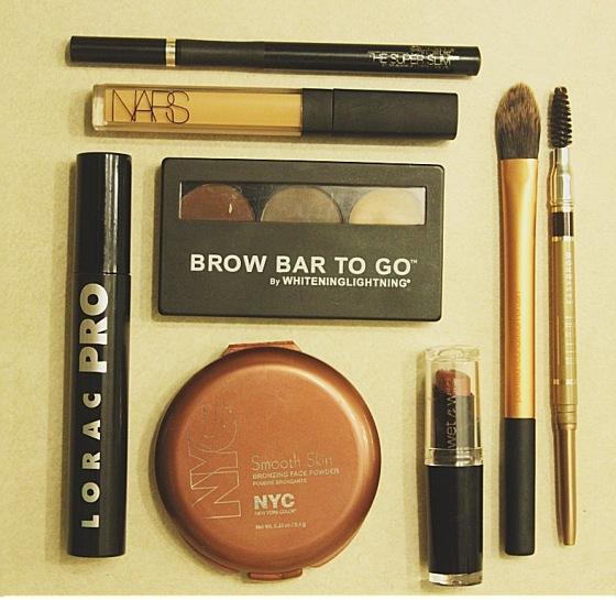 lorac pro, mascara, nars, makeup, nyc, real techniques, milani, loreal, brow baw, whitening lighting, wet & wild