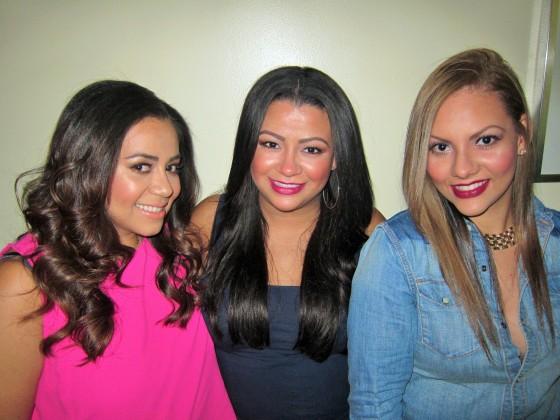 L-R Cinthia, Lucy & Emily