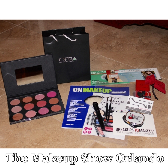 the makeup show orlando, okra cosmetics, breakups to makeup, static nails, crown brush,