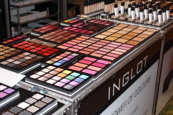 inglot, makeup show orlando, expo, vendors, makeup
