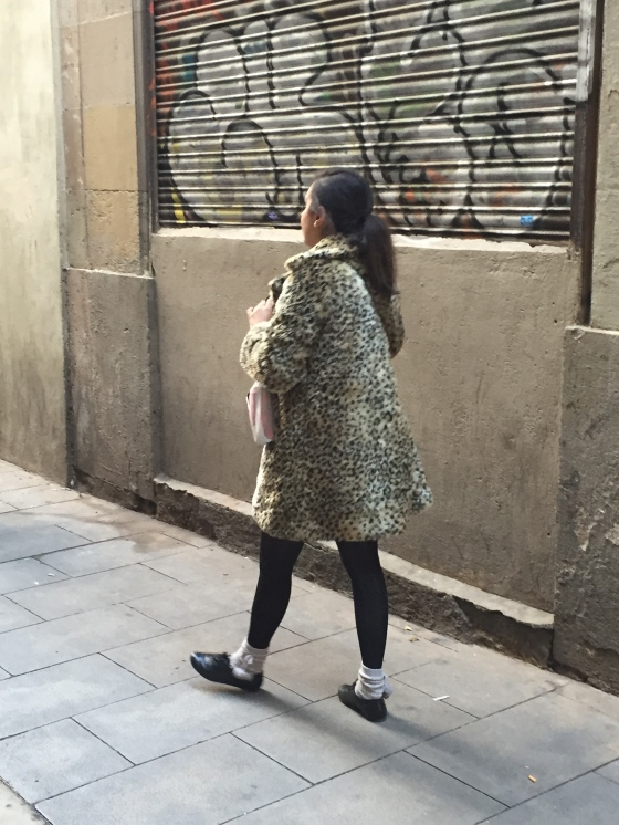 leopard missguided coat, barcelona, travel, fashion, ootd, zara, aldo,