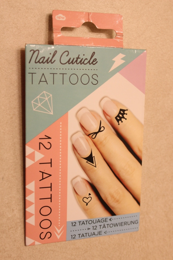 nail cuticle tattoos, nails, blogger