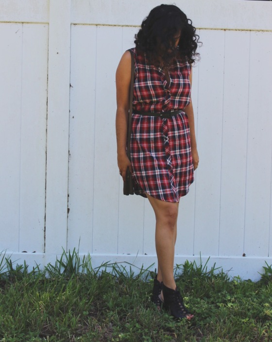 fourth of July, ootd, red white and blue, plaid, tartan, fashion, blogger